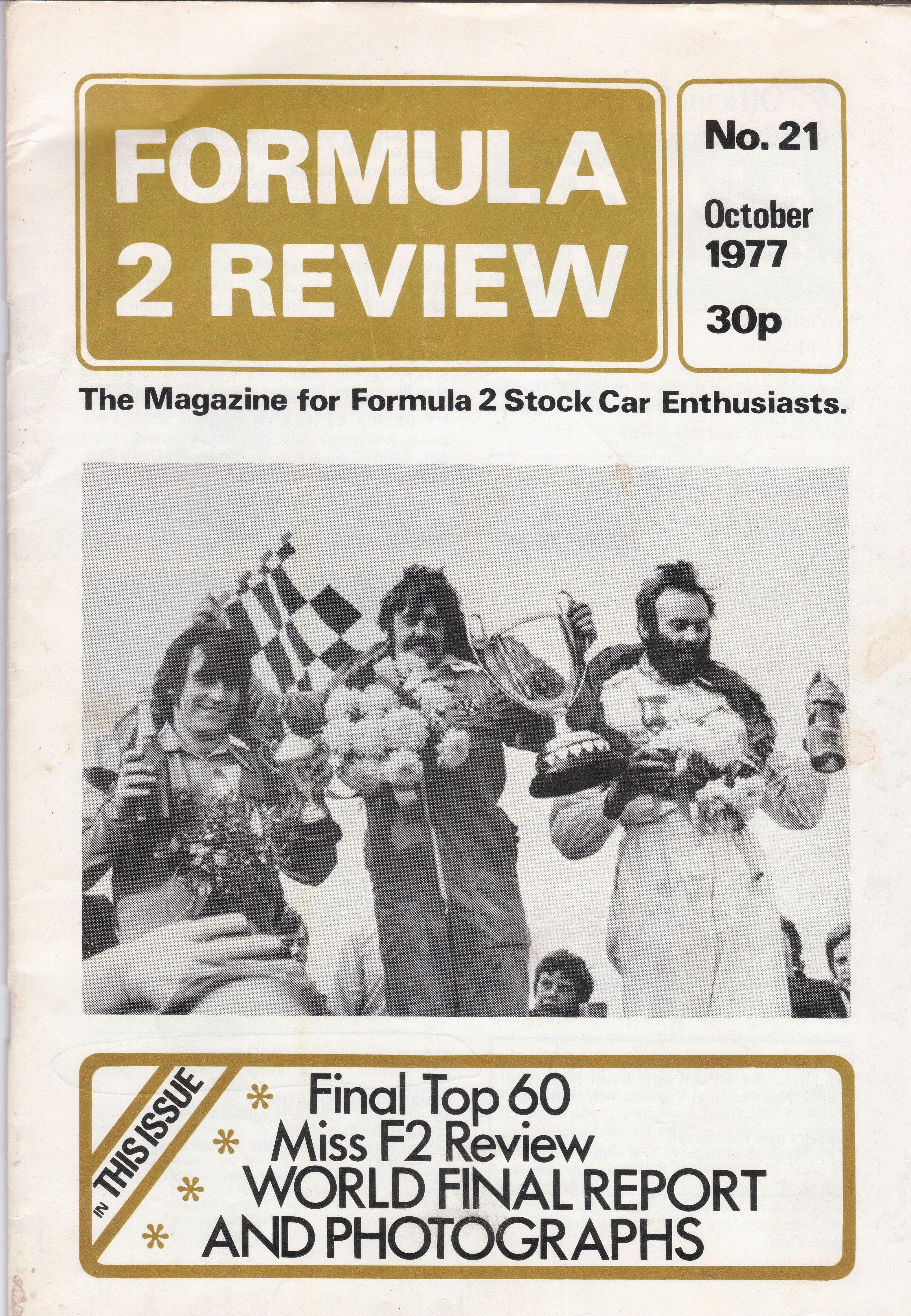 f2 review mag cover